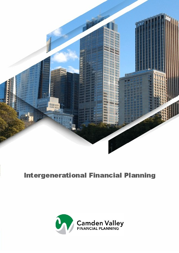 Intergenerational Financial Planning